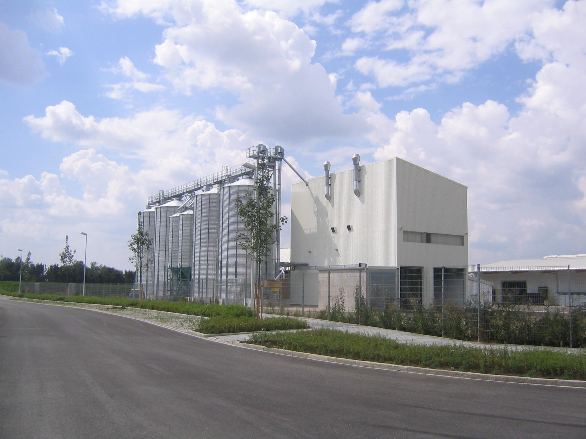 Silo Plant Construction